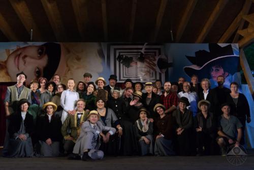 mit dem Ensemble von My Fair Lady (2018)