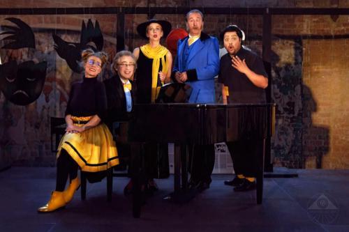 mit Ensemble von MITFontane ins Theater (2018)