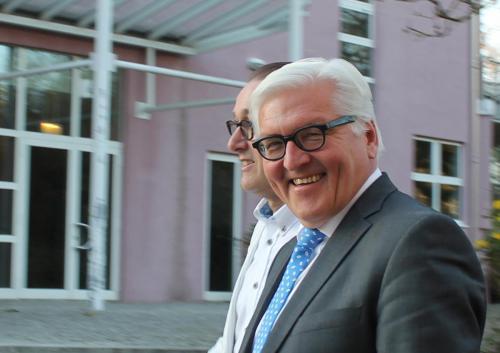 Mit dem damaligen Außenminister Frank Walter Steinmeier als Schirmherr des Brandenburger Klostersommer 2015