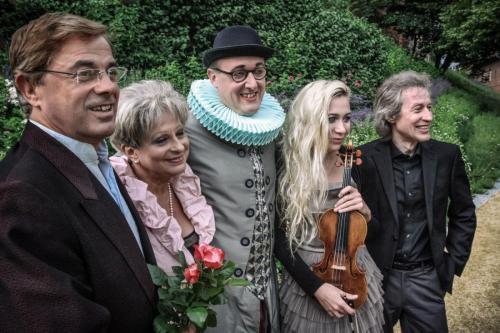"""mit Ensemble """"Rosengärten der Musik"""" (2013)"""